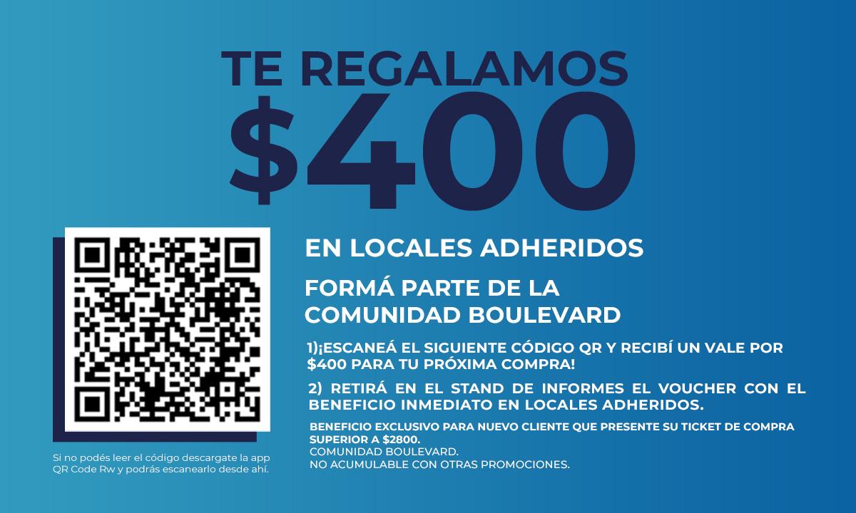 Promo Comunidad Boulevard