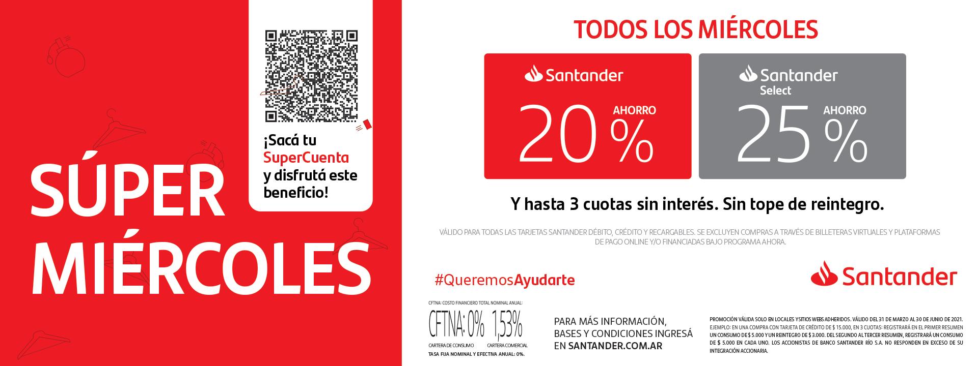 Super Miércoles de Santander Río